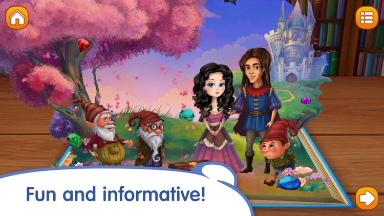 Snow White and the Seven Dwarfs by Grimm Brothers screenshot-3