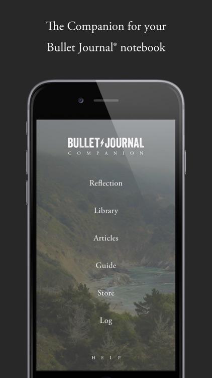 Bullet Journal Companion