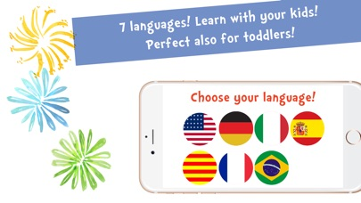 Screenshot #8 for Sami Tiny FlashCards Animals 6 languages kids apps