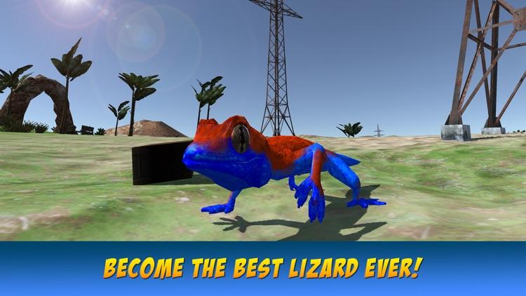 Lizard Wild Life Simulator 3D screenshot-3
