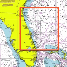 Marine : Northeast Florida offline nautical chart