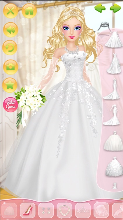 Wedding Salon - Girls Makeup, Dressup and Makeover screenshot-4