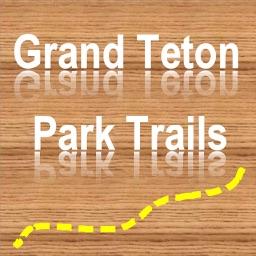 Trails of Grand Teton NP - GPS Topo Maps Hiking
