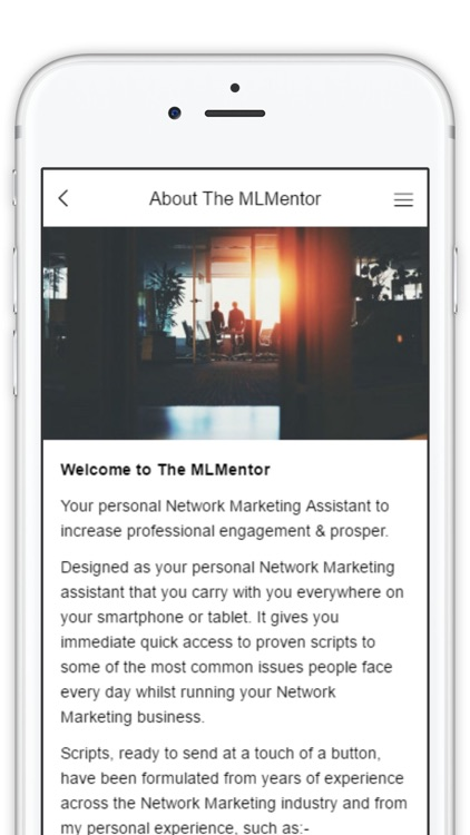 The MLMentor screenshot-2