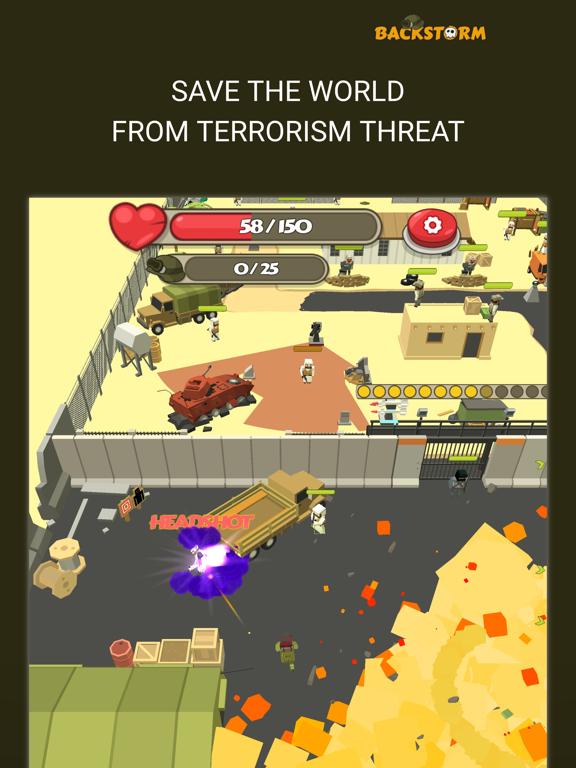 Backstorm Attack - Endless RPG War Runner screenshot 8