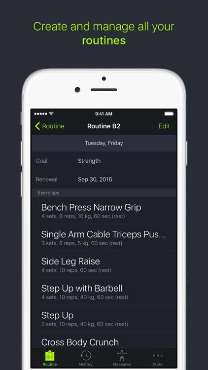SmartGym: Fitness Weight Lifting & Workout Trainer screenshot-0