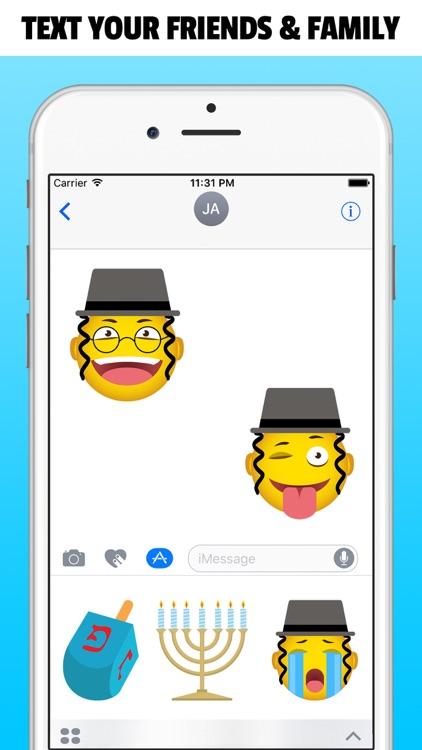 JEWISHMOJI - Jewish Emoji Stickers App