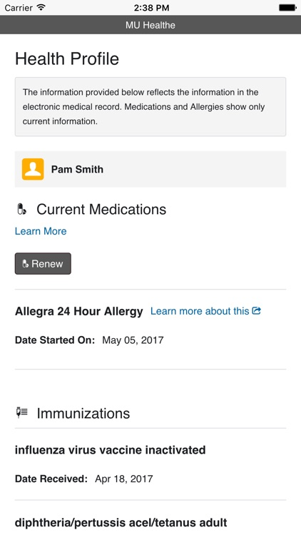 MU Health Care screenshot-4