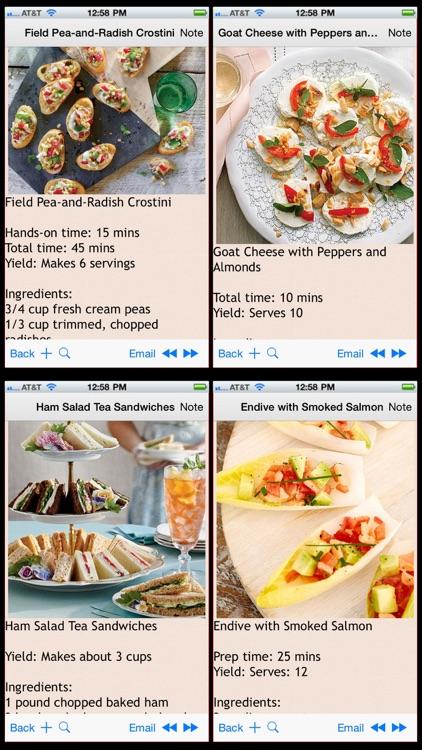 Finger Food Recipes Plus+ screenshot-4
