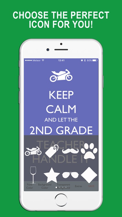 Keep Calm Create + Design Text PNG Images screenshot-4