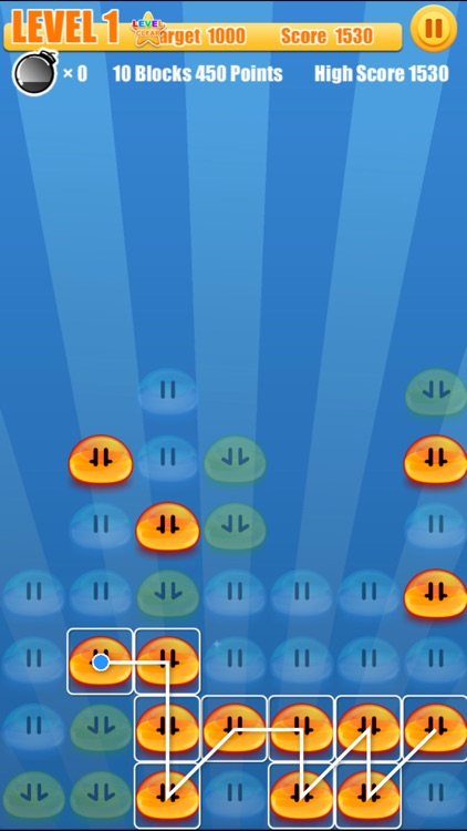 One T PoP - One touch Drawing Puzzle Game screenshot-3