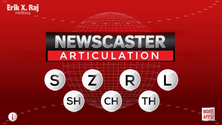 Newscaster Articulation