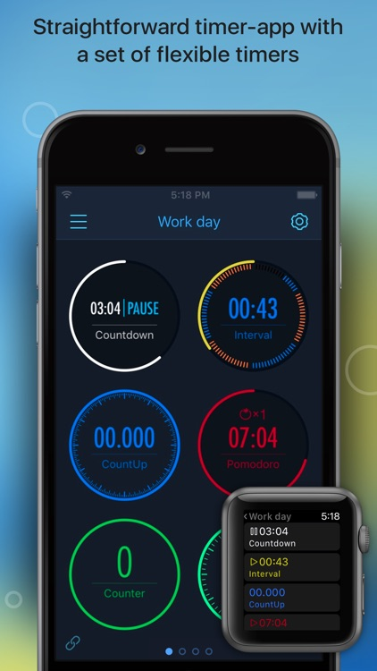 MultiTimer: Visual timer with multiple timers
