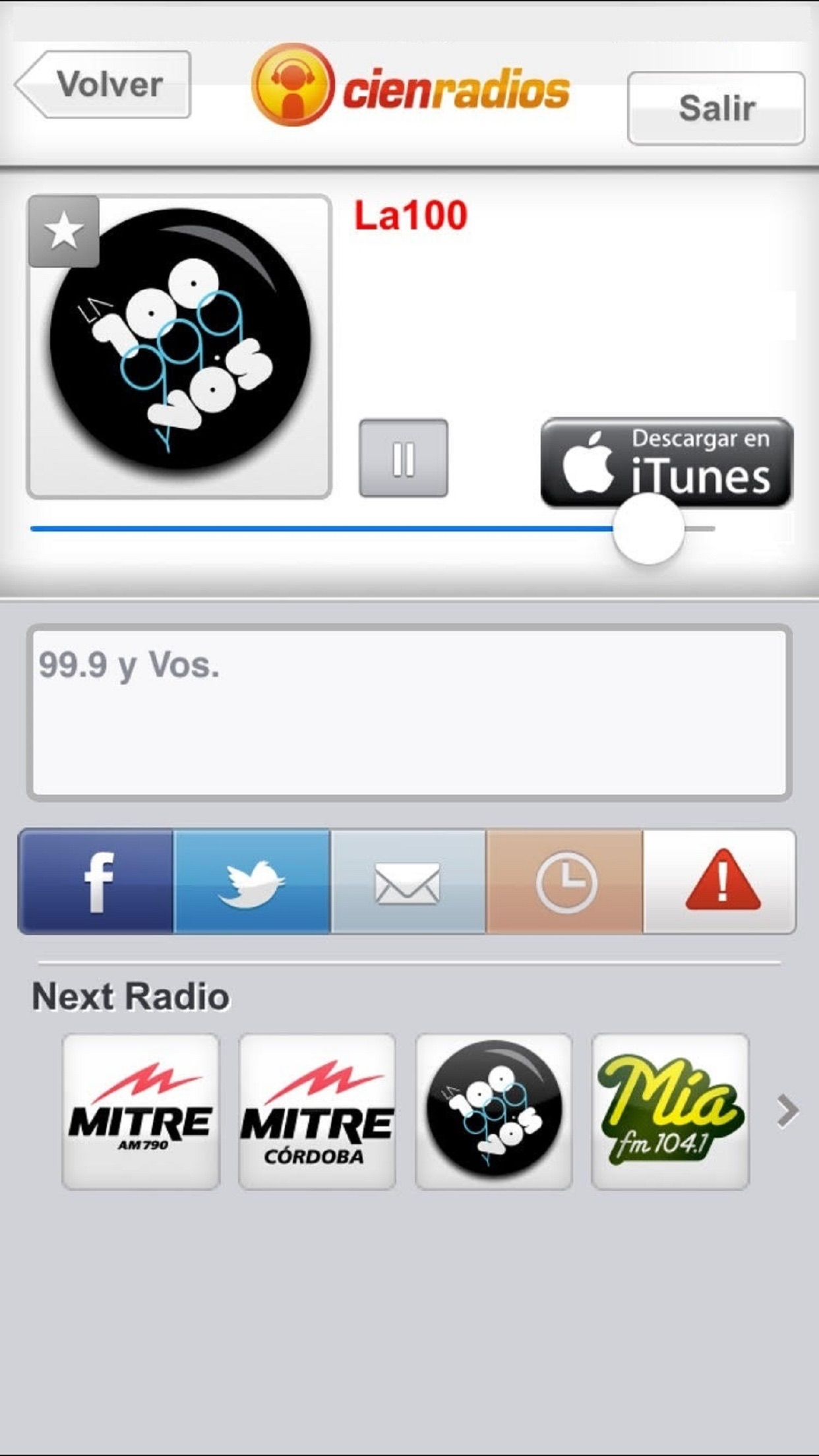 Cienradios Screenshot