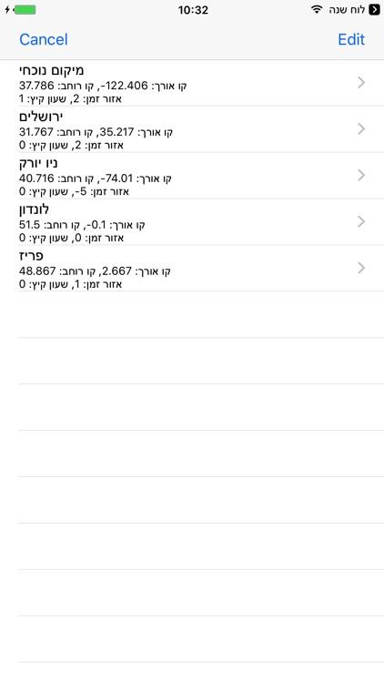 Esh Luach אש לוח שנה screenshot-3