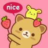 Strawberry Cat Pro - ストロベリーキャット ステッカー絵文字