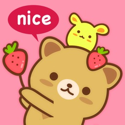 Strawberry Cat Pro - Cute & Emotional Stickers