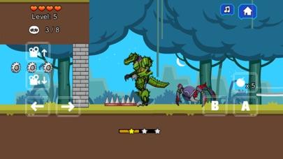 Robot Crocodile Toy Robot War screenshot three