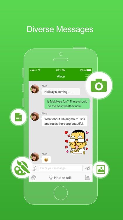 FreePP-Call Chat Message