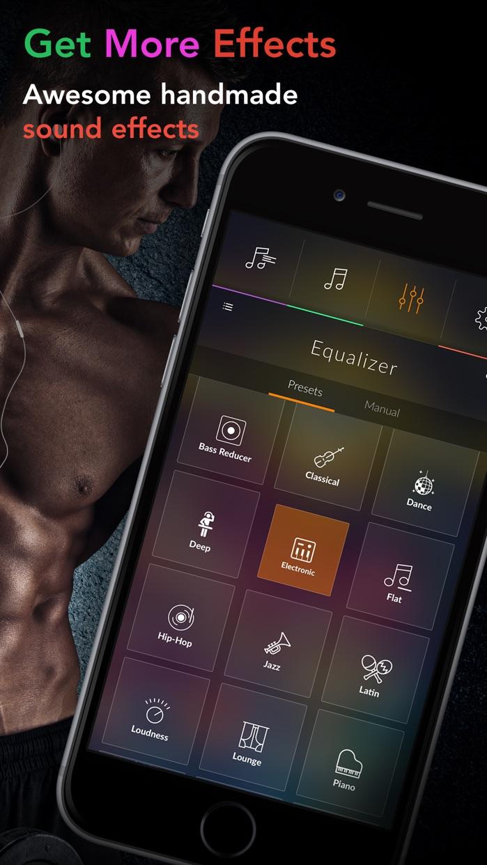 Equalizer + Volume Booster player&sound effects eq Screenshot