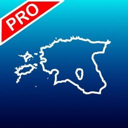Aqua Map Estonia Pro - GPS Offline Nautical charts