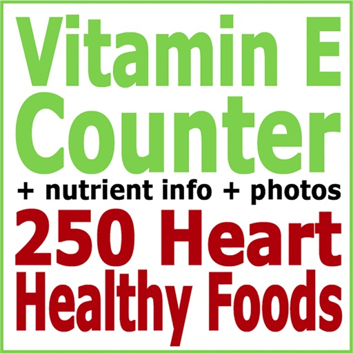 Vitamin E Counter & Tracker for Healthy Food Diets