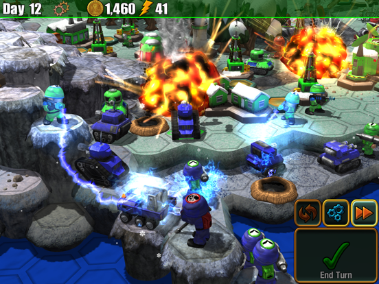 Epic Little War Game на iPad