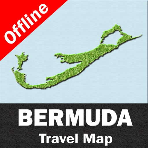 BERMUDA – GPS Travel Map Offline Navigator
