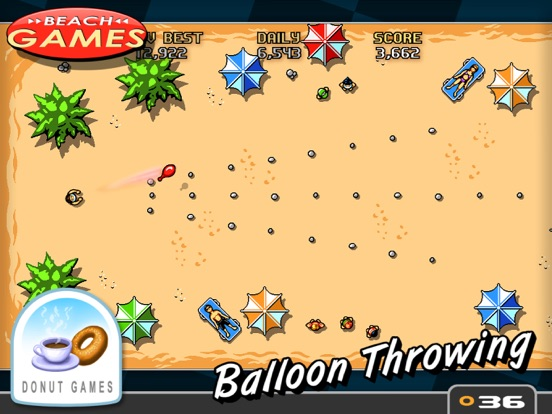 Screenshot #5 pour Beach Games