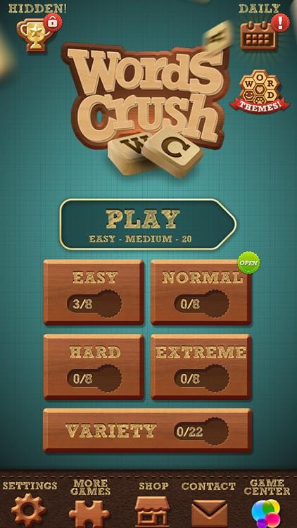 Words Crush: Hidden Words! screenshot-4