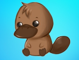 Platypus Cute - Platypus Emoji And Stickers Pack