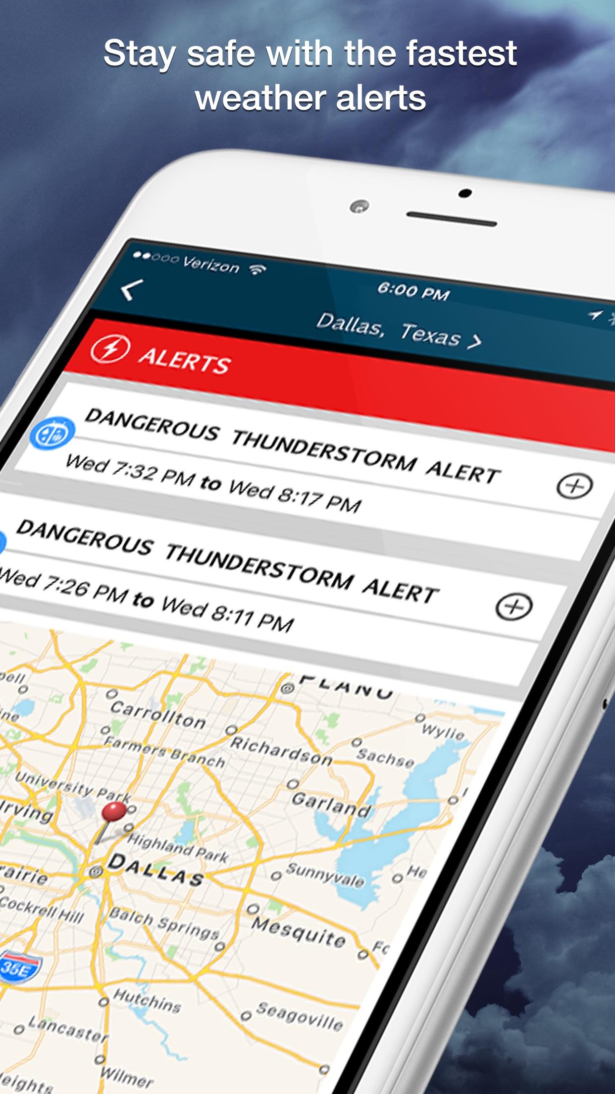 WeatherBug - Radar, Map, Alert Screenshot