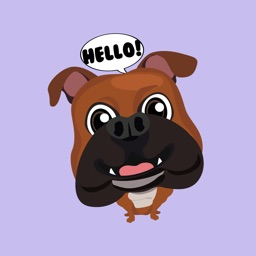 Bulldog Expressions Stickers for iMessage