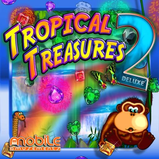 Tropical Treasures Gems 2 Deluxe