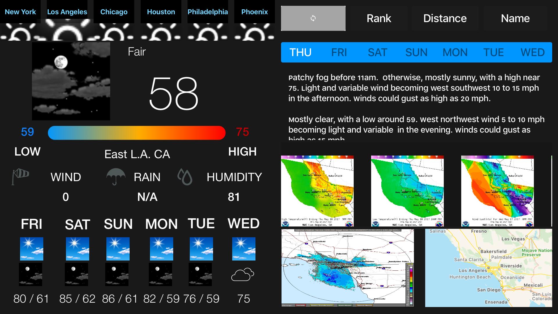 Instant NOAA Weather Forecast screenshot 14