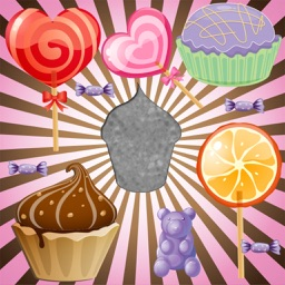 Candy and Cake Puzzles for Toddlers and Kids