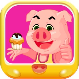 小猪佩奇甜心蛋糕-宝宝美食烹饪大作战儿童游戏