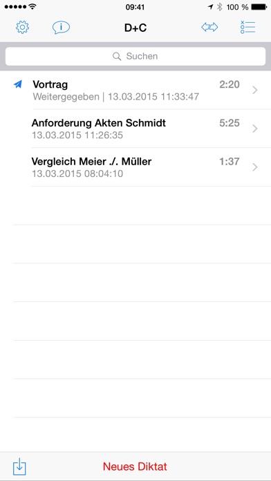 Screenshot for Dictate + Connect (Dictamus) in Austria App Store
