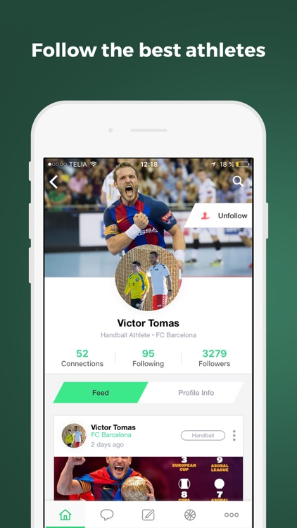 Iplay Sport - #1 App for Handball & Football