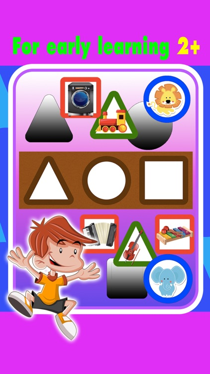 Toddler kids learning with shapes & colors games by Naphat Kanana