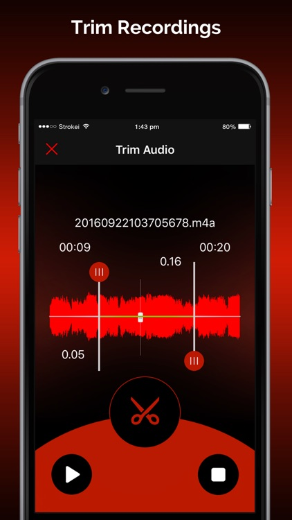 Quick Recorder Pro: Voice Record,Trim,Share,Upload