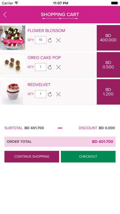 Haute Cupcakes screenshot 3
