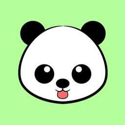 Lovely Kawaii Panda Stickers