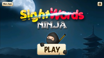 Screenshot for Sight Words Ninja - Slicing Game to Learn to Read in United States App Store