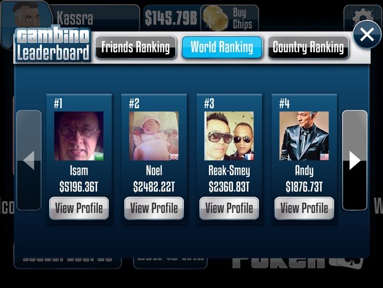 Gambino Poker HD screenshot-4