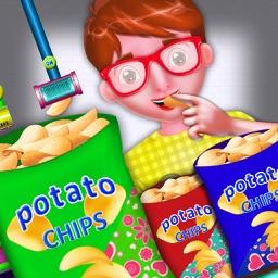 Potato Chips Factory Simulator Games