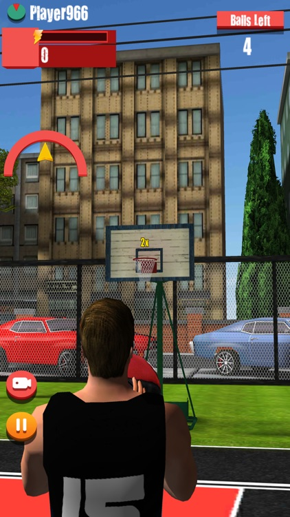 Street basketball-basketball shooting games screenshot-0