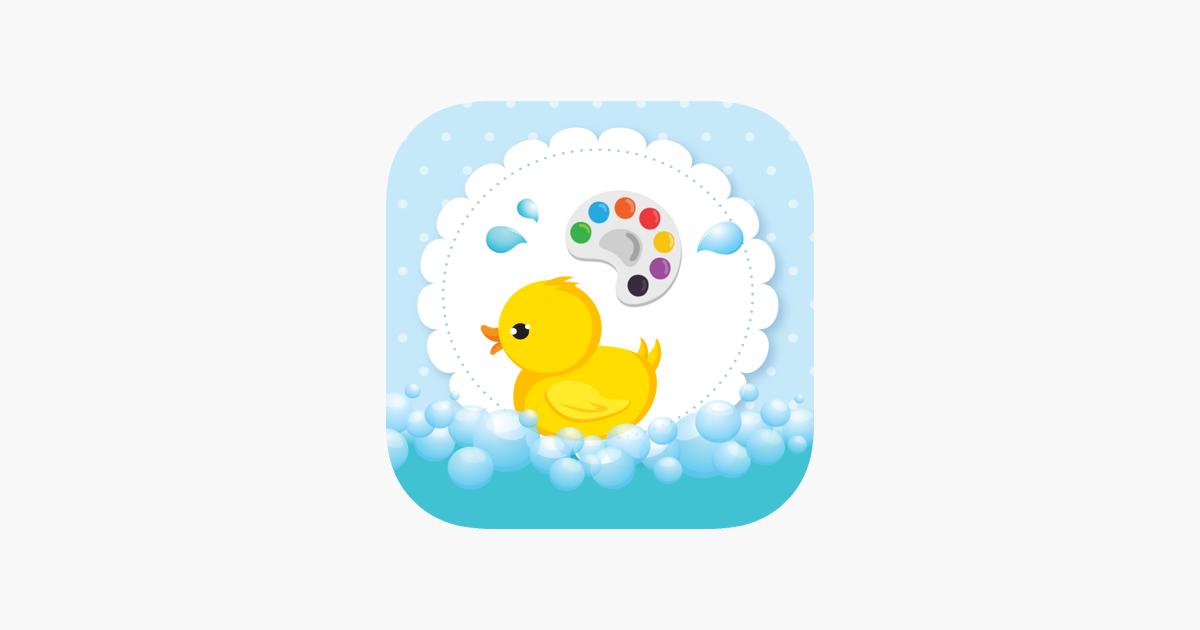 Cocuklar Icin Sevimli Ordek Boyama Cizim Kitabi App Store Da