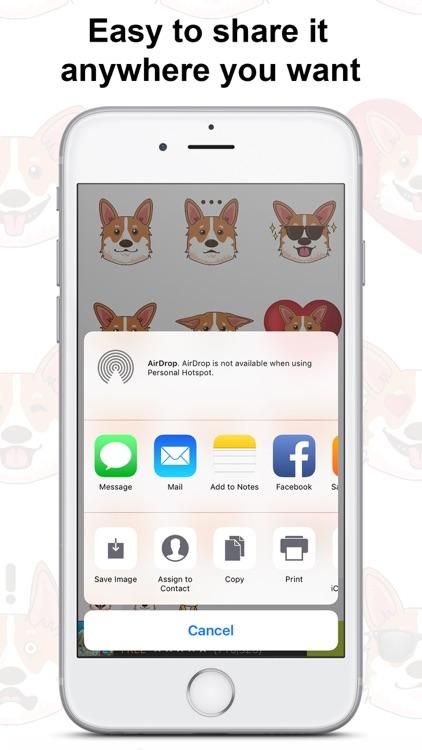 CorgiMoj - Corgi Emoji & Stickers