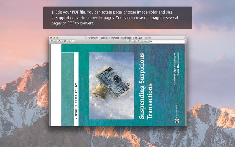 PDF to Image Pro – JPG/PNG/GIF